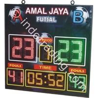 Papan Score Futsal Herari Model 4 1