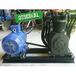 Dari Kompresor Udara Tekanan Tinggi 30-35Bar Ship Engine + Motor 7.5Hp Kompresor Angin Dan Suku Cadang Jual Compressor Distributor 0