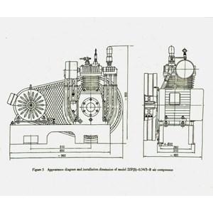 Dari Kompresor Udara Tekanan Tinggi 30-35Bar Ship Engine + Motor 7.5Hp Kompresor Angin Dan Suku Cadang Jual Compressor Distributor 2