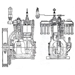 Dari Kompresor Tekanan Tinggi Ship Engine 7.5Hp (Start Diesel Kapal) Kompresor Angin Dan Suku Cadang Jual Compressor Distributor 1