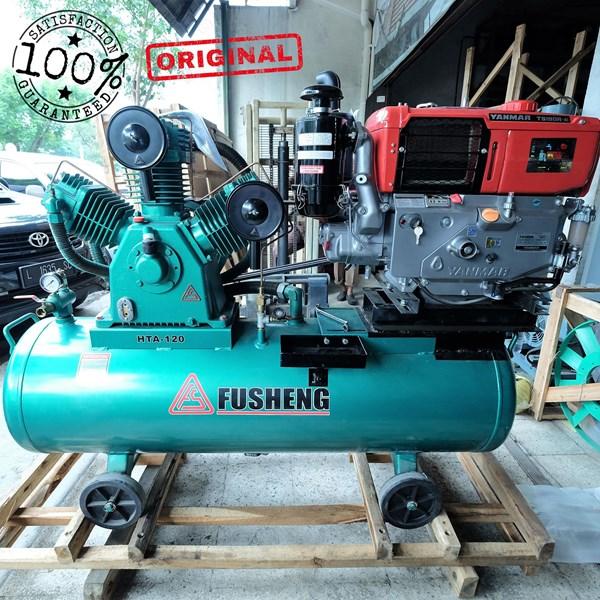 Kompresor Angin Dan Suku Cadang Fusheng 15Hp 11Kw 8Bar Diesel Yanmar Ts190r Di