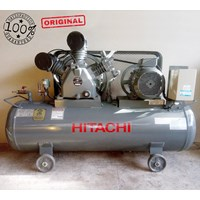 Kompresor Listrik Air Compressor Hitachi 10Hp 7.5Kw 9.5Bar Elektrik Motor 380V (3Phase)