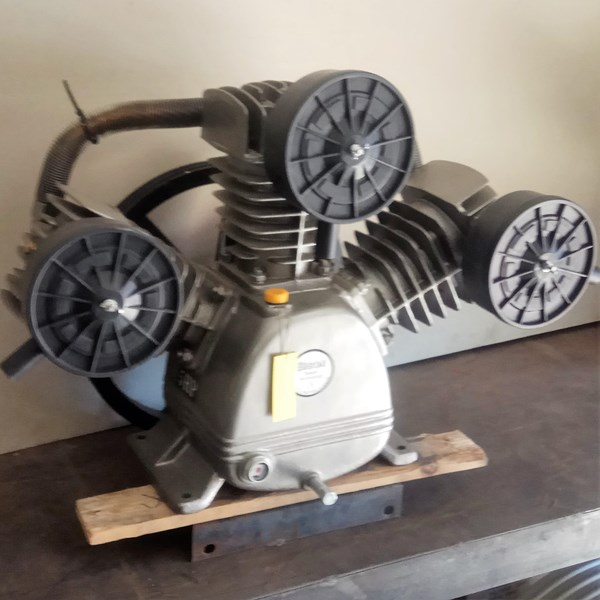 Kepala Air Compressor Piston Bison 5Hp 8Bar Kompresor Angin Dan Suku Cadang
