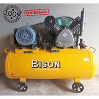 Air Compressor Piston Bison 7.5Hp 16 Bar 380V 3Phase 50Hz Kompresor Listrik