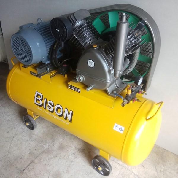 Air Compressor Piston Bison 7.5Hp 16 Bar 380V 3Phase 50Hz Kompresor Listrik