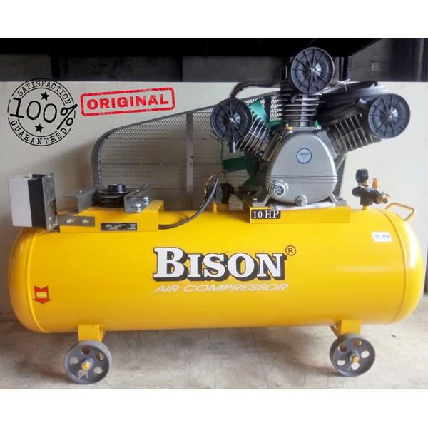 Air Compressor Piston Bison 10Hp 8Bar Kosongan ( Tanpa Motor) Kompresor Angin Dan Suku Cadang