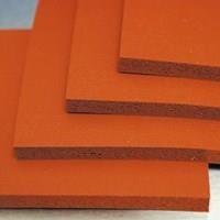 Jual karet silicone spon merah lembaran (Meilia 087775726557) 2