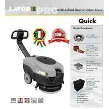 Scrubber Lantai Walk-Behind Floor Scrubber Drier Size 360mm