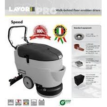 Scrubber Lantai Walk-Behind Floor Scrubber Drier Size 450mm