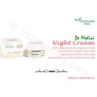 Night Cream (Krim Malam) De Medisi Skin Care