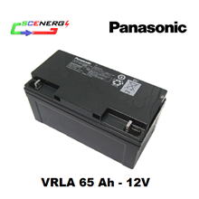 Battery PANASONIC VRLA 65 Ah - 12V