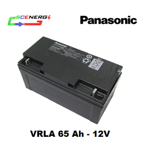 Battery PANASONIC VRLA 65 Ah - 12V