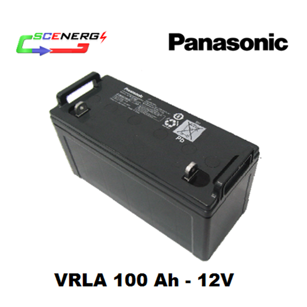 jual battery panasonic vrla 100 ah 12v. Black Bedroom Furniture Sets. Home Design Ideas