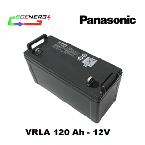 Battery PANASONIC VRLA 120 Ah - 12V