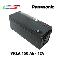 Jual Battery PANASONIC VRLA 150 Ah - 12V