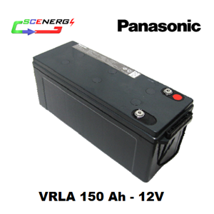 Battery PANASONIC VRLA 150 Ah - 12V