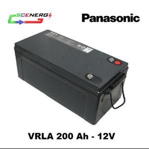 Battery PANASONIC VRLA 200 Ah - 12V