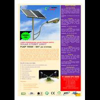 Jual Lampu Jalan Pju Tenaga Surya 150 Watt - 220 Vac - 7M (P Series)  2