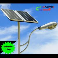 Jual Lampu Jalan Pju Tenaga Surya 50 Watt - 220 Vac - 7M (P Series)