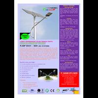 Jual Lampu Jalan Pju Tenaga Surya Led 65 Watt - 24 Vdc - 9M (P Series) 2