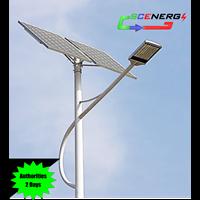 Jual Lampu Jalan Pju Tenaga Surya Led 65 Watt - 24 Vdc - 9M (P Series)