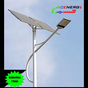 Lampu Jalan Pju Tenaga Surya Led 65 Watt - 24 Vdc - 7M (P Series)