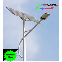 Jual Lampu Jalan Pju Tenaga Surya Led 35 Watt - 24 Vdc - 7M (P Series)