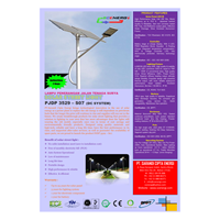 Jual Lampu Jalan Pju Tenaga Surya Led 35 Watt - 24 Vdc - 7M (P Series) 2