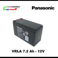 Battery PANASONIC VRLA 7.2 Ah - 12V 1
