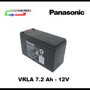 Battery PANASONIC VRLA 7.2 Ah - 12V