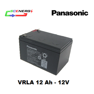 Battery PANASONIC VRLA 12 Ah - 12V