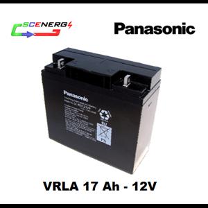 Battery PANASONIC VRLA 17 Ah - 12V