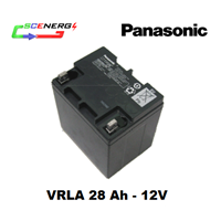 Battery PANASONIC VRLA 28 Ah - 12V 1