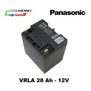 Battery PANASONIC VRLA 28 Ah - 12V
