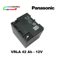 Battery PANASONIC VRLA 42 Ah - 12V 1