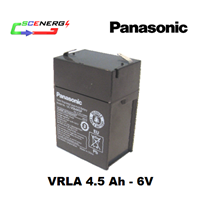 Jual Battery PANASONIC VRLA 4.5 Ah - 6V