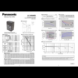 Battery PANASONIC VRLA 4.5 Ah - 6V