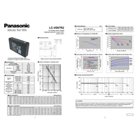 Battery PANASONIC VRLA 7.2 Ah - 6V 1