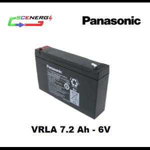 Battery PANASONIC VRLA 7.2 Ah - 6V