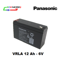 Jual Battery PANASONIC VRLA 12 Ah - 6V