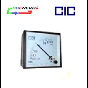 Power Factor Meter Analog (Cos Phi) - CIC