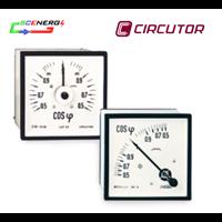 Jual Power Factor Meter Analog (Cos Phi) - Circutor