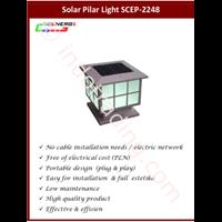 Lampu Pilar Solar Cell (Scep 2248)