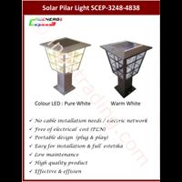Jual Lampu Pilar Solar Cell (Scep 3248-4838)
