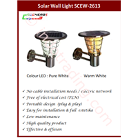 Jual Lampu Dinding Solar Cell (Scew 2613)