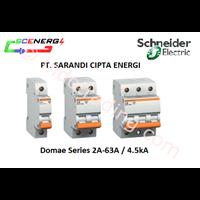 Jual MCB Schneider 2A-63A  1P-3P  4.5kA (Domae)