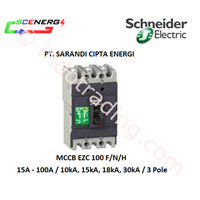 Jual MCCB Schneider 15A - 100A  (EZC 100 FNH)