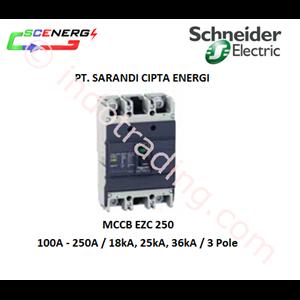 MCCB Schneider 100A - 250A  3P (EZC 250)