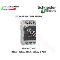 MCCB Schneider 320A - 400A  (EZC 400) 1