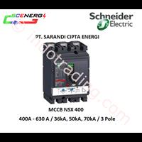 MCCB Schneider 400A - 630A  (NSX 400 NFH) 1